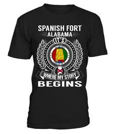 Spanish Fort, Alabama - My Story Begins