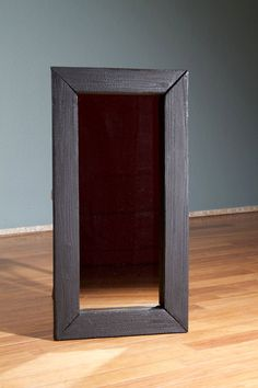 Mirror frame Shou Sugi Ban by cuspinerascrafts on Etsy