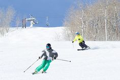 Skiing at Park City Mountain, in Park City, UT