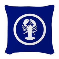 Use these Pillows to accent any living room or bedroom. Customize a pillow or pick from the many throw pillow designs in any size and fabric you want. Designer Throw Pillows, Nautical, Logos, Fabric, Art, Navy Marine, Tejido, Art Background, Tela
