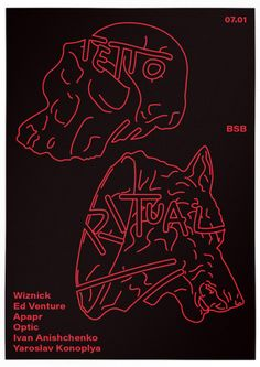 poster for GHETTO: RITUAL party  graphicdesign posterdesign typo fltbt yamaximov