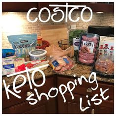Keto Costco Ultimate Shopping List meal plan weight loss