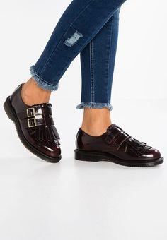 sports shoes 83604 6a192 Köp Dr. Martens ELLARIA - Slip-ins - cherry red för 1 045,