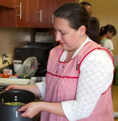 Culture Kitchen Master Cook, Paloma Salazar, works her magic in the kitchen!