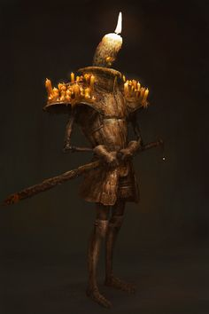 ArtStation - Candle knight, Théo Guillot