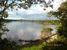 Nina Rumi, a orillas del rio Nanay, a 20 Km de Iquitos, region Loreto, PERU, un lugar del paraiso amazonico.