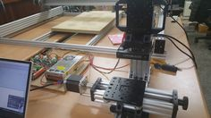 OpenBuilds korea Mini Mill is a great go-to desktop sized CNC milling plate