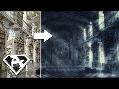 Rychlá fotomontáž ducha v knihovně...