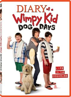 #DiaryofaWimpyKid Dog Days