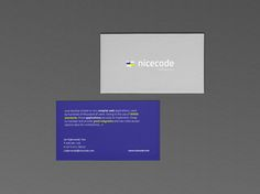 Business Card Pack 2014/15 on Behance designed by Anna Warda. Inspirational color scheme as well as typographic layout.