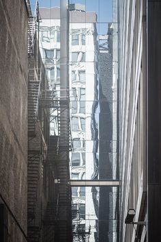 Fire Escapes and Windows, Chicago