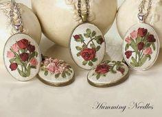 Ribbon embroidery, Humming Needles: