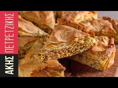 Greek chicken pie - Kotopita by Greek chef Akis Petretzikis. An authentic traditional Greek recipe for a super delicious chicken pie with country phyllo dough! Phyllo Dough Recipes, Savoury Recipes, Greek Pita, Greek Sweets, Greek Cooking, Greek Dishes, Greek Chicken, Spring Recipes, Yum Yum Chicken