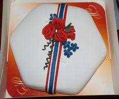 17. mai kake Norwegian Food, Public Holidays, Food And Drink, Baking, Cake, Norway, Dessert, Google, Dessert Food
