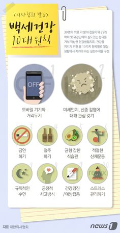 사실 앞에 겸손한 민영 종합 뉴스통신사 뉴스1 Fitness Diet, Health Fitness, Sense Of Life, Information Design, Korean Language, Health And Safety, Health Diet, Cooking Timer, Good To Know