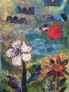 Collage by Elisabeth Gecius