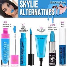 Kylie cosmetics Skylie dupes // @kathrynglee123