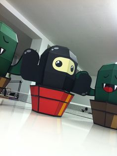 #CactusClan Papertoys on Toy Design Served