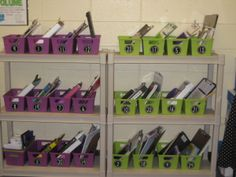 Book bins for Daily 5