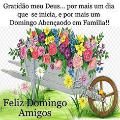 Bom Dia Meus Amigos Feliz e abençoado domingo cheio das maravilhas do Senhor pra todos Nós