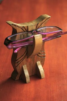 Owl Eye Glass Holder by jhowardstudios on Etsy, $12.00