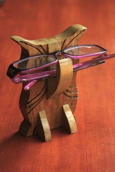 Owl Eye Glass Holder by jhowardstudios on Etsy, $12.00