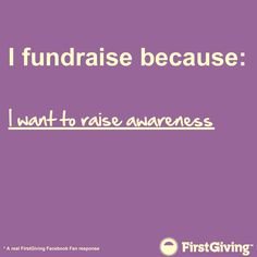 #FirstGiving #nonprofit #fundraising
