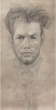 """Cat Burglar"" - Austin Osman Spare (English, pencil and crayon, 1956 {male portrait drawing Austin Osman Spare, Portraits, Portrait Art, Portrait Paintings, Monochrome, Automatic Drawing, Cool Art Drawings, Drawing Art, English Artists"
