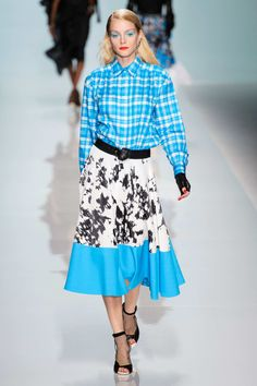 Cowgirls coming out! Emanuel Ungaro S/S15 #ss15 #pfw