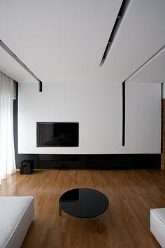Elegant, Contemporary, and Creative TV Wall Design Ideas | Tv wall ...