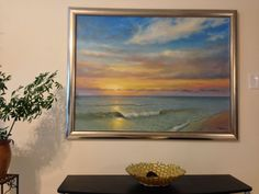 "This is a record of painting the ocean in my studio. Canvas size is 36x48"". In this video I discuss the linear perspective, glazing, scumbling, and the use o..."