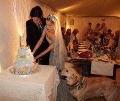 Thomas Cohen's and Peaches Geldof's Jewish/Secular Wedding (Peaches Geldof in an art deco dress)