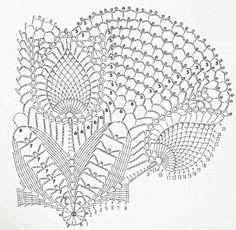 Kira scheme crochet: Scheme crochet no. 1033