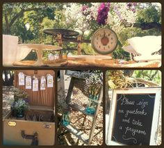 Details for a country wedding by Touched by Time Vintage Rentals...6-23-2013 https://www.facebook.com/TouchedByTimeVintageRentals