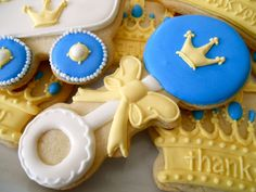 Oh Sugar Events: baby shower Shower Party, Baby Shower Parties, Baby Shower Themes, Baby Shower Decorations, Baby Boy Shower, Shower Ideas, Baptism Decorations, Baby Boy Cookies, Baby Shower Cookies