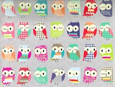 Crazy 'bout Owl Crafts