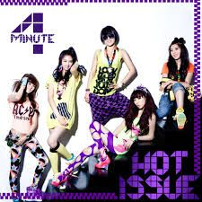 "4Minute  is a five-member South Korean girl group formed in 2009 by Cube Entertainment with music singles and albums released primarily in South Korea and Japan. The members of the group are Nam Ji-hyun, Heo Ga-yoon, Jeon Ji-yoon, Kim Hyun-a, and Kwon So-hyun.[1] The group debuted in June 2009 with its first single, ""Hot Issue"", and in December 2010, it released its first Japanese album, Diamond. In 2011, the group released its first Korean full length album, 4Minutes Left."