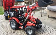 Jurgen tractor combined with MajklSpajkl Tractor Dump Trai… | Flickr