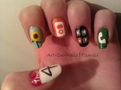 iPhone Nails