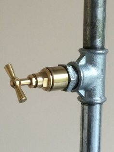On Off Light Switch Just By A Turn Of The Tap Used Almost All Industrial Pipe Lamps Created