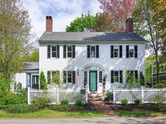 Built in 1825 and beautifully restored by its current owners, this handsome Federal was crafted by ship's captain JT Nason and boasts grace, beauty, character, well-proportioned rooms and all of the comforts of an in-town location! Magnificent King's Pine floors, kitchen remodeled with honed granite countertop and beamed ceiling, 4 fireplaces, gas and pellet stoves, original mouldings & hand-painted mural, wonderful screened porch, 2 story barn and large private yard! This home is fabulous!