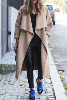 Light Camel Turn Down Collar Coat - I like this. Do you think I should buy it?