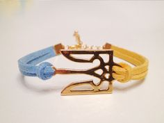 Ukraine+Symbol+Trident+Bracelet+Ukraine+Flag+by+DodoCharms+on+Etsy