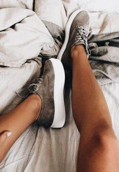 suede tennis shoes platflorm