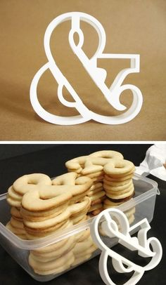 typeasimage:  (via Ampersand Cookie Cutter - Arbutus Slab Bold by thekarolina on Shapeways)  ﹠⅋❤ more ampersand posts here ❤⅋﹠