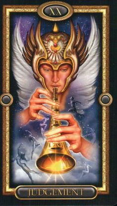 Judgement ~ The Gilded Tarot by Ciro Marchetti