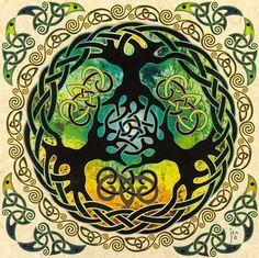 Tree of Life Art :: Celtic mandala