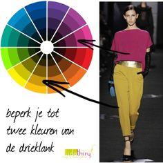 Kleurcombinatie met twee kleuren van een drieklank. by lidathiry on Polyvore featuring mode and Diane Von Furstenberg
