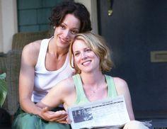 Favorite Gay TV Couples: Bette (Jennifer Beals) and Tina (Laurel Holloman)