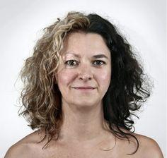 Mãe/Filha(Mother/Daughter): Julie, 61 anos e Isabelle, 32 anos. Retratos Geneticos/Genetic Portraits.